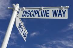 to be disciplined